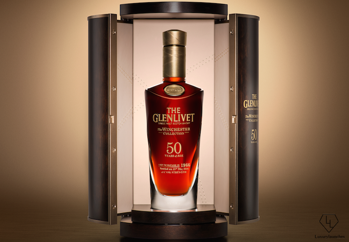 The Glenlivet launches exquisite 50 year old Winchester collection vintage 1966 -