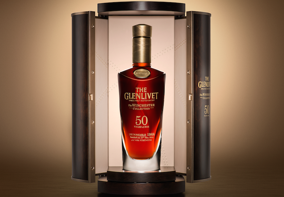 The Glenlivet Launches Exquisite 50 Year Old Winchester