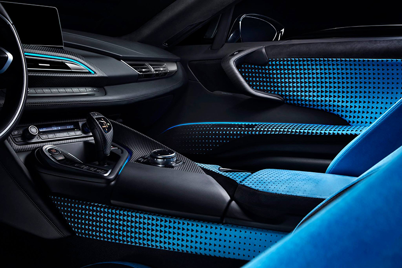 The I8 Garage Italia Crossfade Body Has An Interesting Colour Progression Transforming From A Protonic Dark Silver Metallic Front To Blue