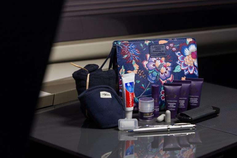 British Airways / Liberty First Wash Bags