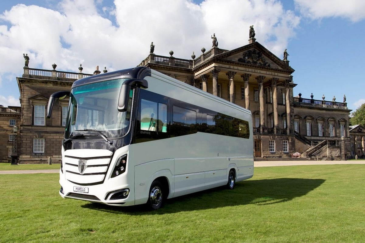 Luxury for nomads check out one of the most expensive for Most expensive motor homes