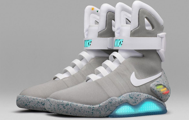 Future' self lacing sneakers sold