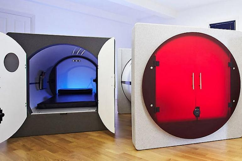 office sleeping pod.  Office Podtimesleeppods640x533 Inside Office Sleeping Pod