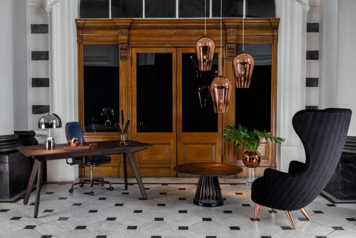Celebrated British Designer Tom Dixon Recently Introduced An Impressive  Series Of Furniture That Make You Want To Revamp Your Office Space Too!
