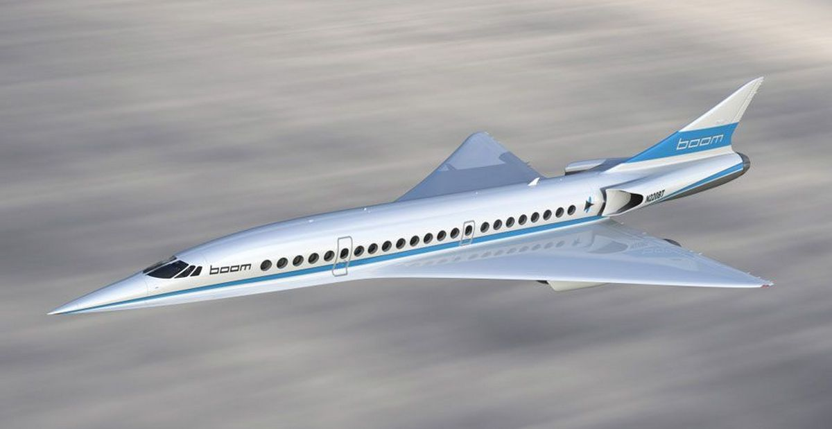 Boom Technology and Richard Branson to dramatically cut your travel time with launch of supersonic jets -