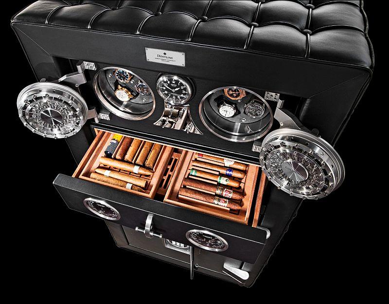 Luxury Safe Maker D 246 Ttling Unveils Premium Cigar Humidor