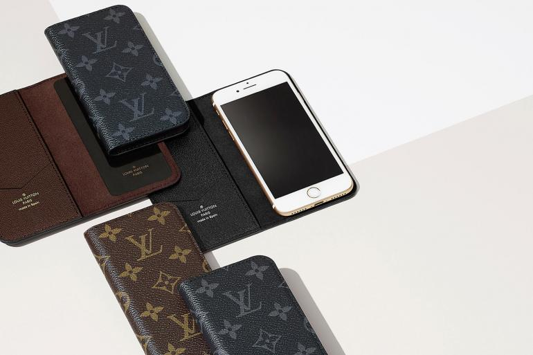 online retailer 3e71a 2ecd5 Louis Vuitton debuts gecko adhesive technology for iPhone cases -