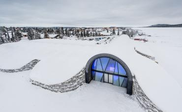 Entrance ICEHOTEL 365