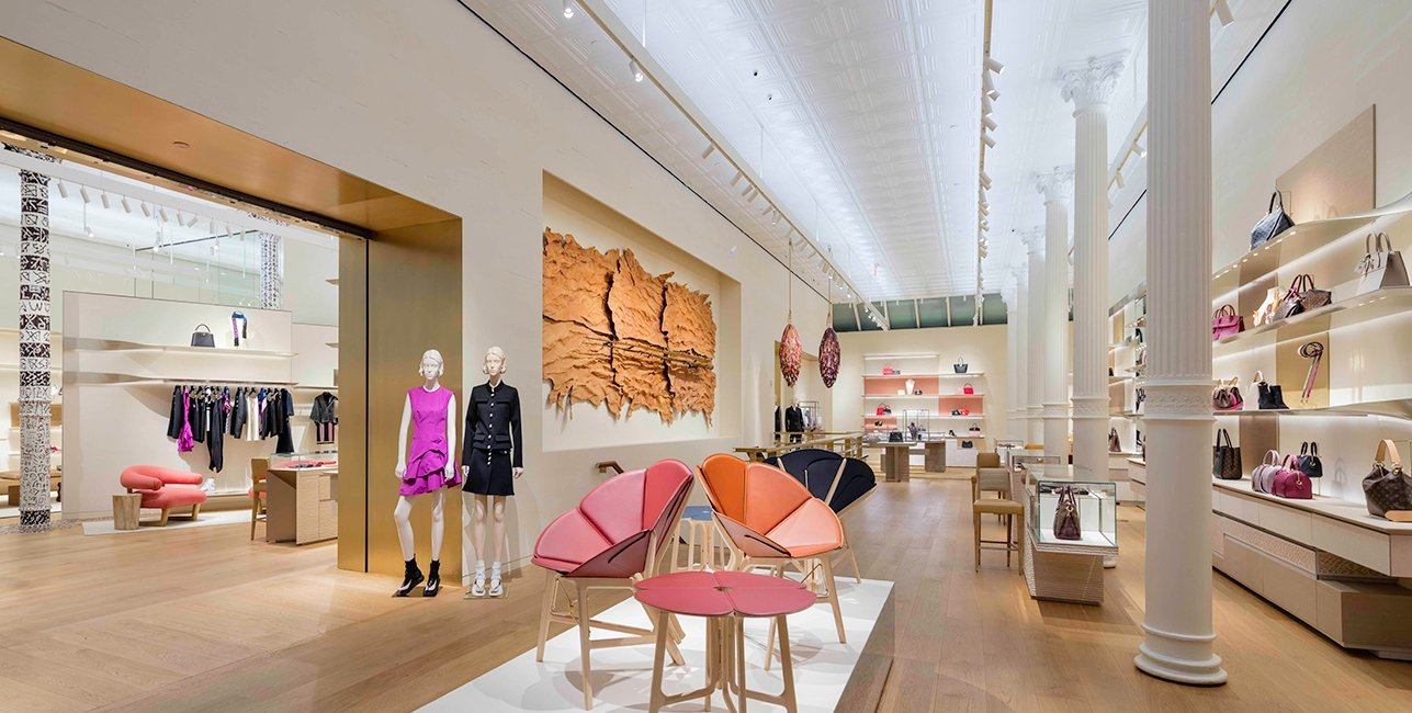 Inside Louis Vuitton S Redesigned Soho Store