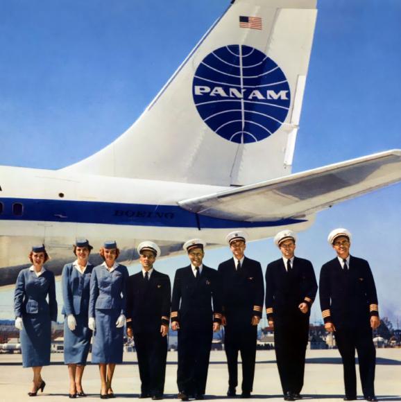 pan-am-707-crew