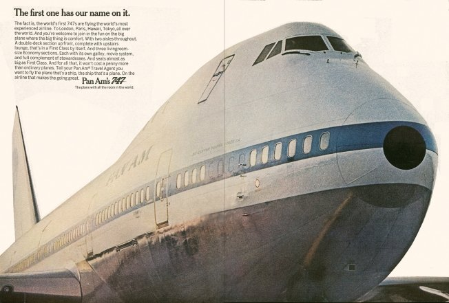 The Boeing 747 and Pan Am changed the airline industry forever.