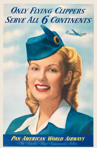 The air-hostesses were very vital to Pan Am's brand image.