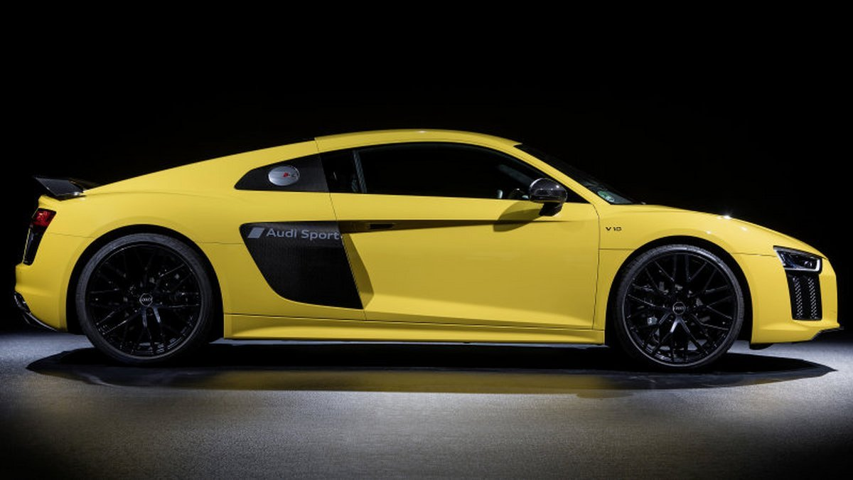 Audi offers personalized paint etching on the R8 supercar