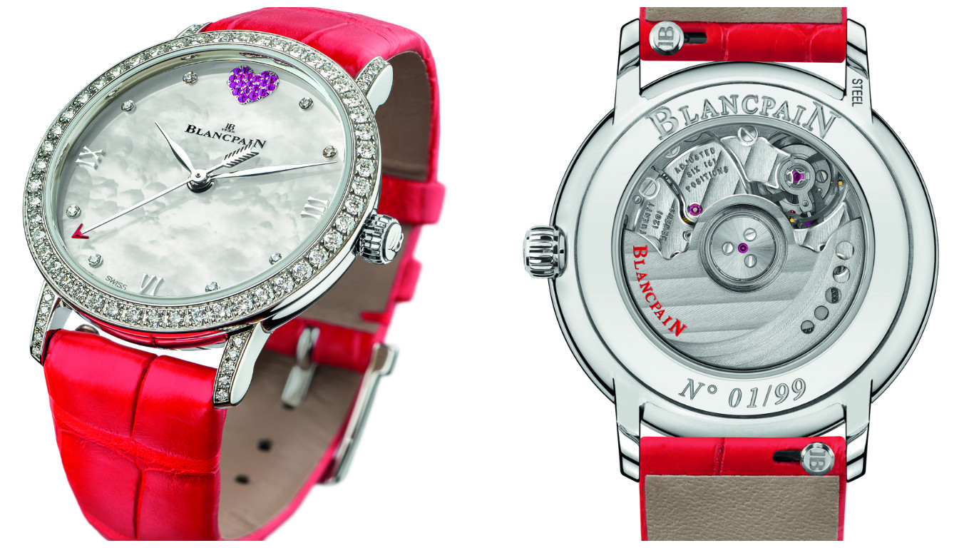 Blancpain celebrates valentine s day with the saint valentin 2017 watch - Date saint valentin 2017 ...