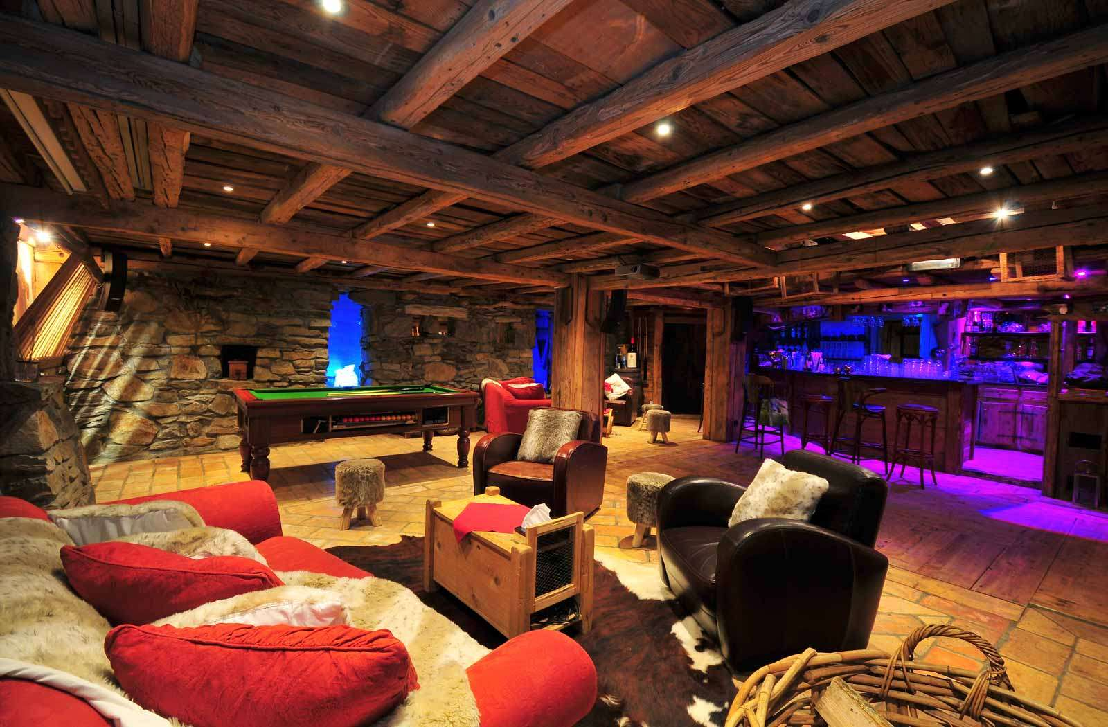 Luxury home game rooms - The 10 Most Expensive Luxury Chalets In The World For This Winter