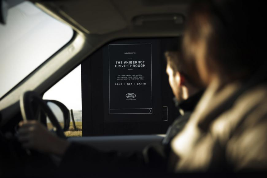 Land Rover fine dining drive-through pop up restaurant with chef Simon Rogan (2)