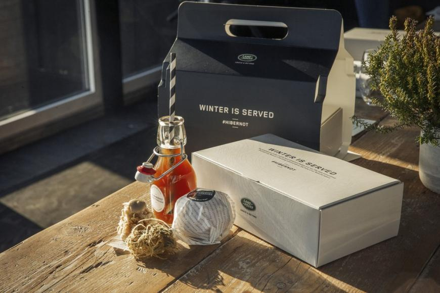Land Rover fine dining drive-through pop up restaurant with chef Simon Rogan (5)