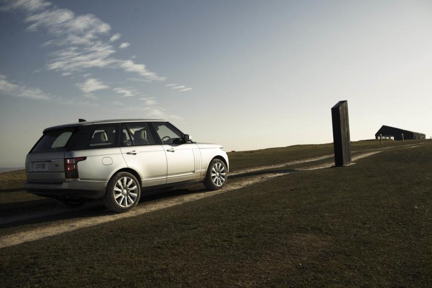 Land Rover fine dining drive-through pop up restaurant with chef Simon Rogan (6)