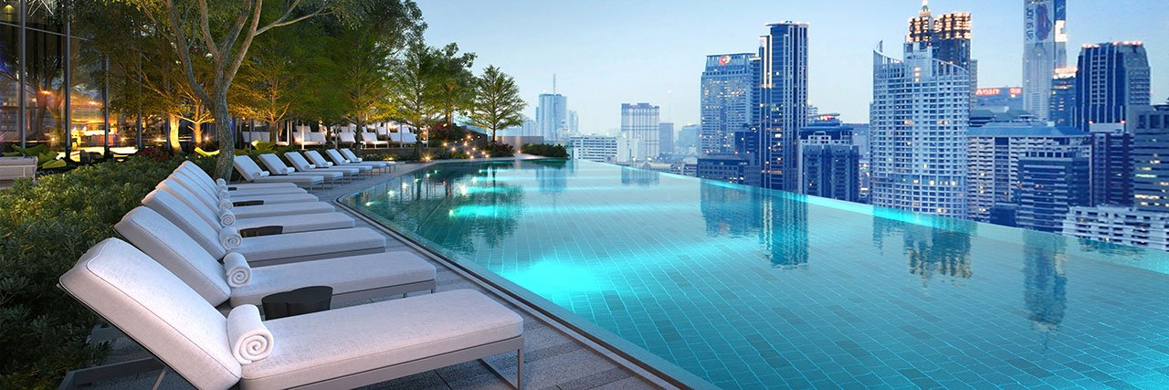 Top 20 luxury city hotels opening in 2017 for Hotel new york swimming pool roof