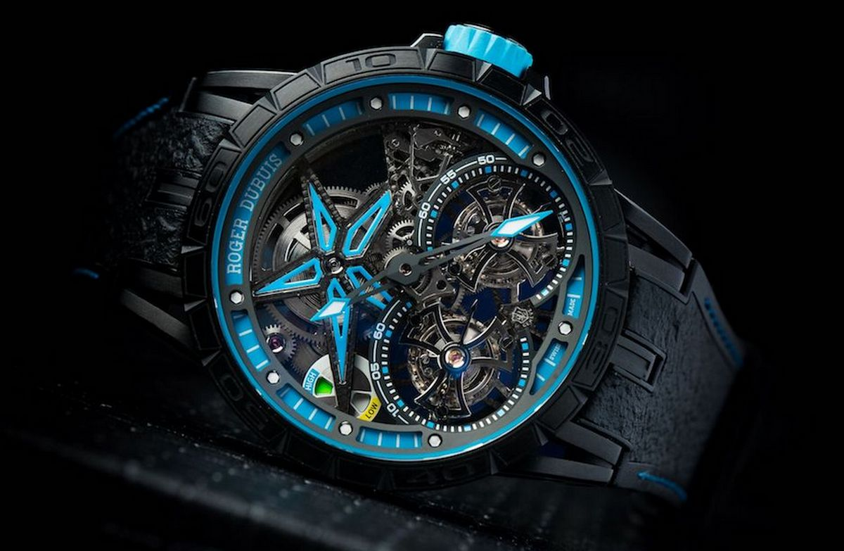 Fine horology meets F1 Tyre rubber- Roger Dubuis partners with Pirelli -
