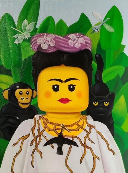 Stefano-Bolcato-iconic-paintings-lego-portrait-6
