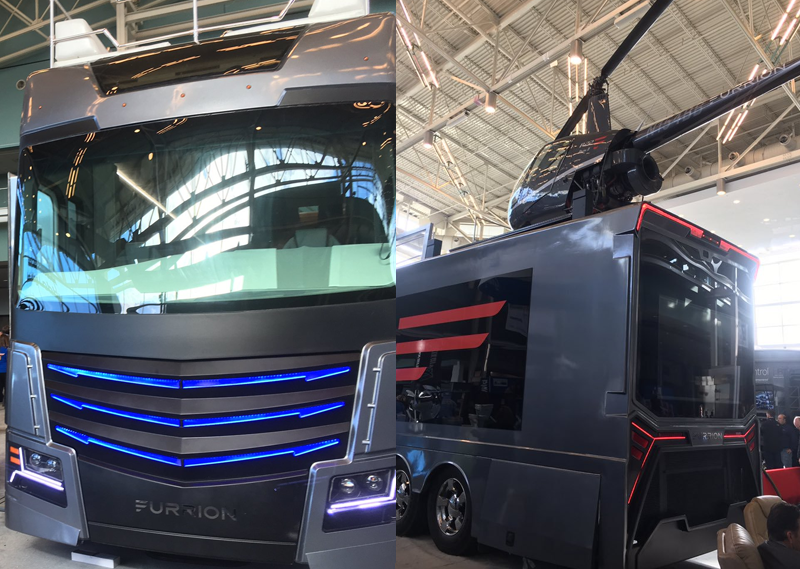 A Luxury Rv Of Your Dreams It Comes With A Helicopter