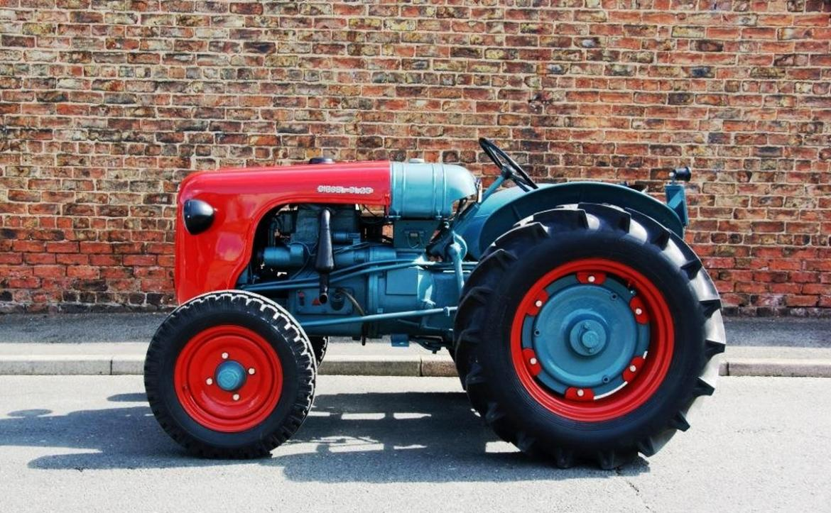 An ultra rare Lamborghini tractor is up for sale -