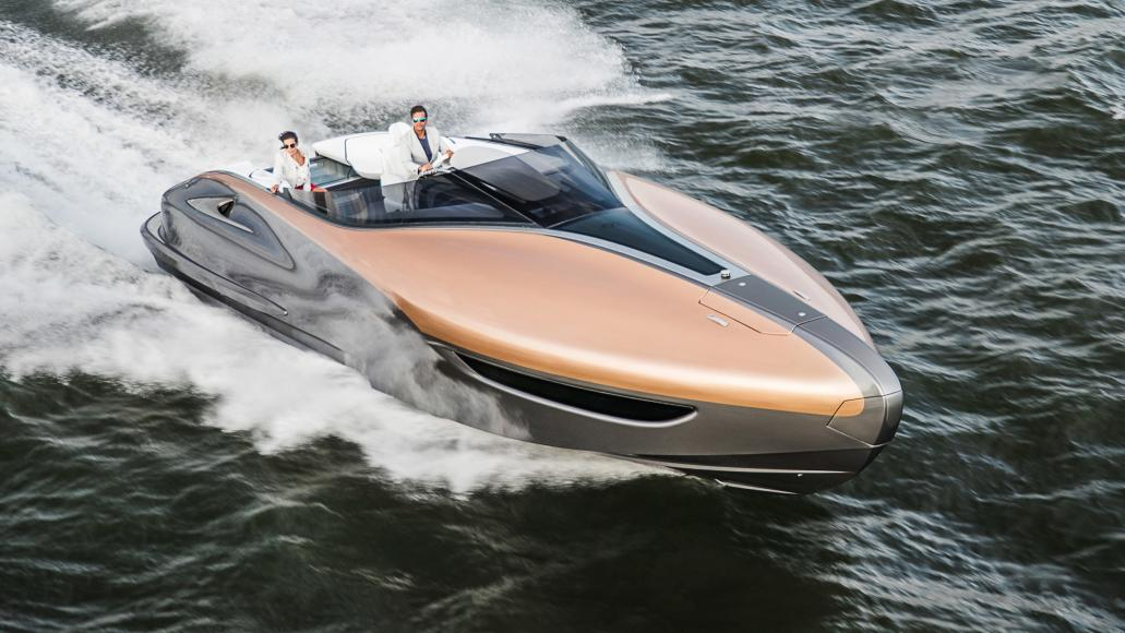 Lexus unveils a Sports Yacht - Packs in 885 horsepower and oozes style -