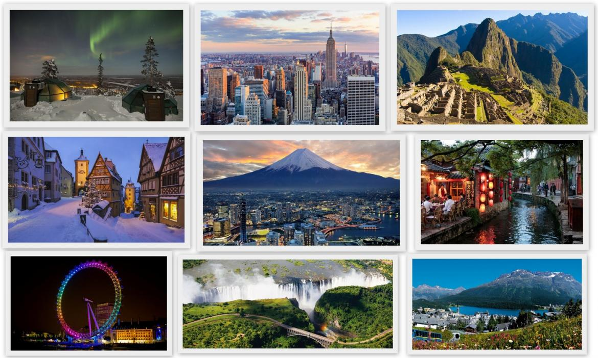 9 of the most romantic destinations in the world according to National Geographic -