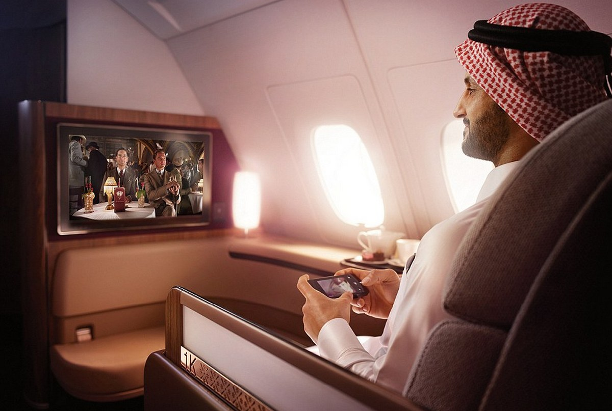 Movie goers can experience Qatar Airways in flight service at select cinemas