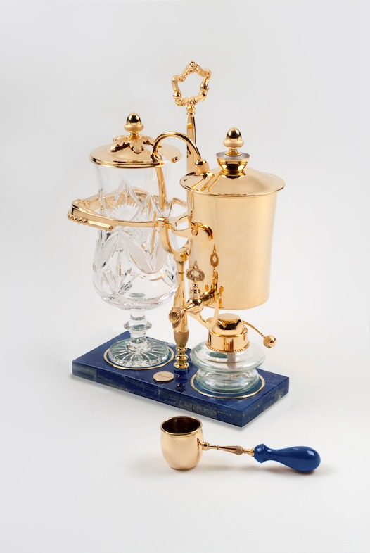 Made from 24K gold this is one of the most expensive coffee makers