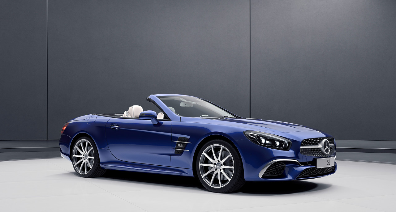 Mercedes-Benz SL and SLC models get Designo and RedArt special editions