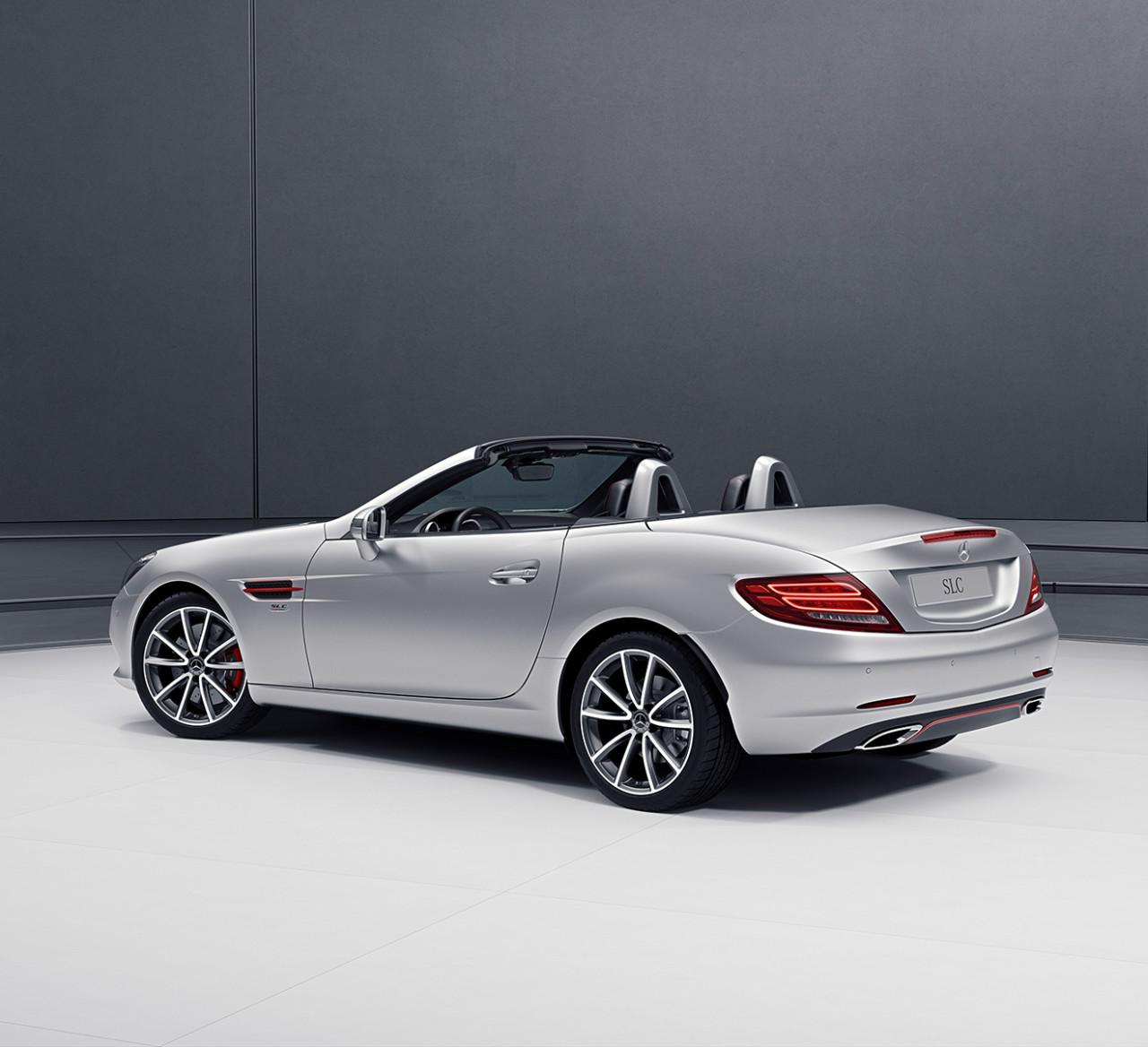 2017 Mercedes Benz Mercedes Amg Slc Suspension: Mercedes-Benz SL And SLC Models Get Designo And RedArt