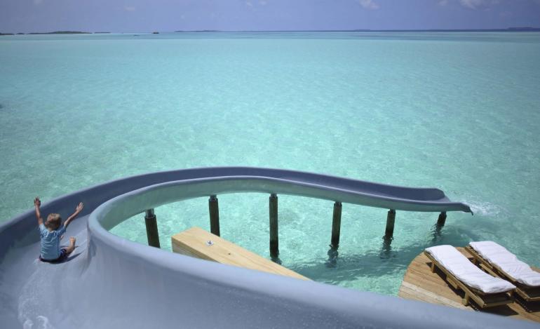 Suite Of The Week 1 Bedroom Water Villa With Slide At