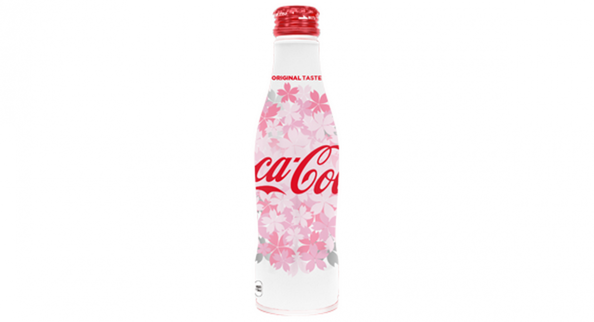 cherry flavoured limited edition coca cola