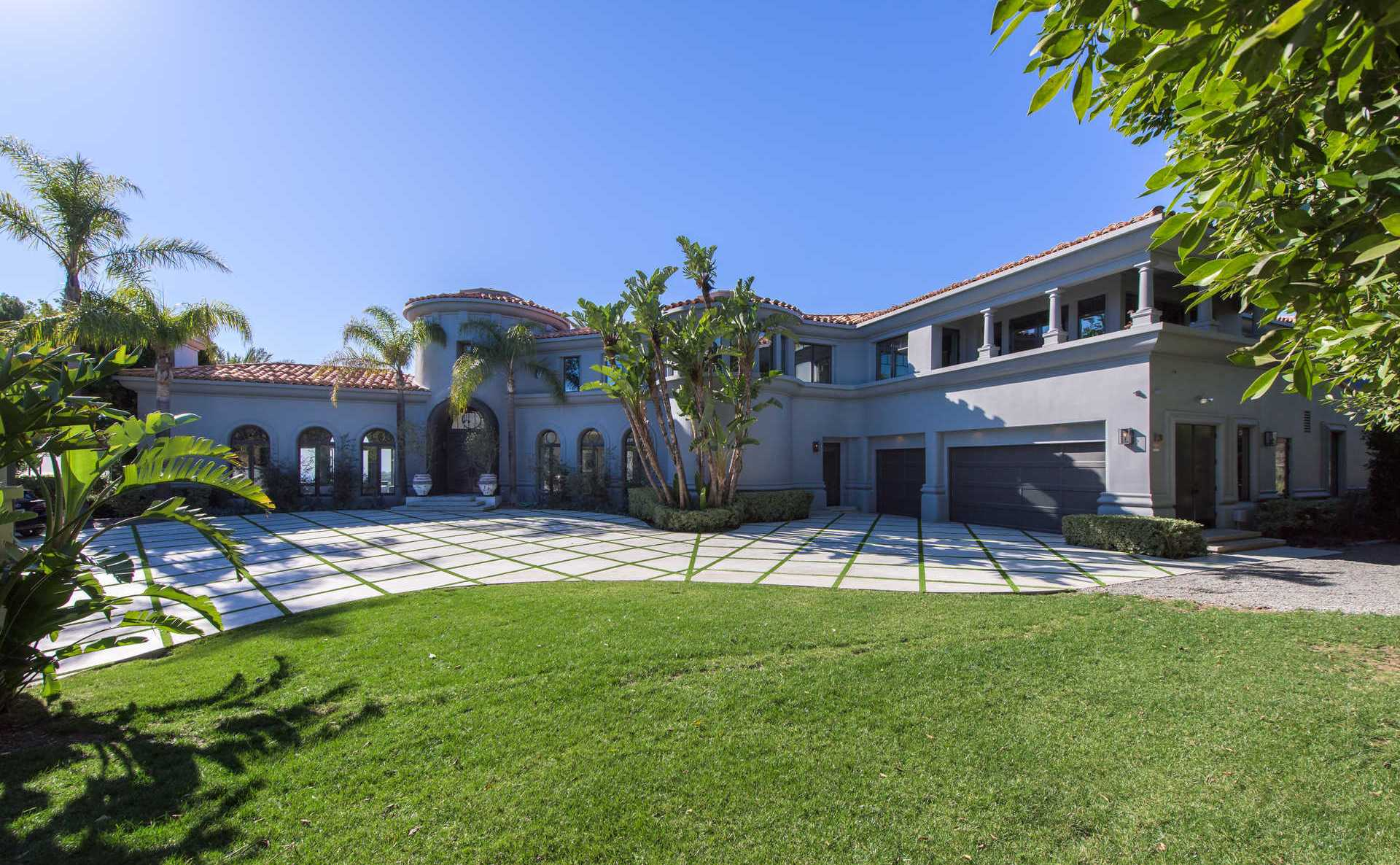 The 10 most expensive homes in california for Biggest house in california