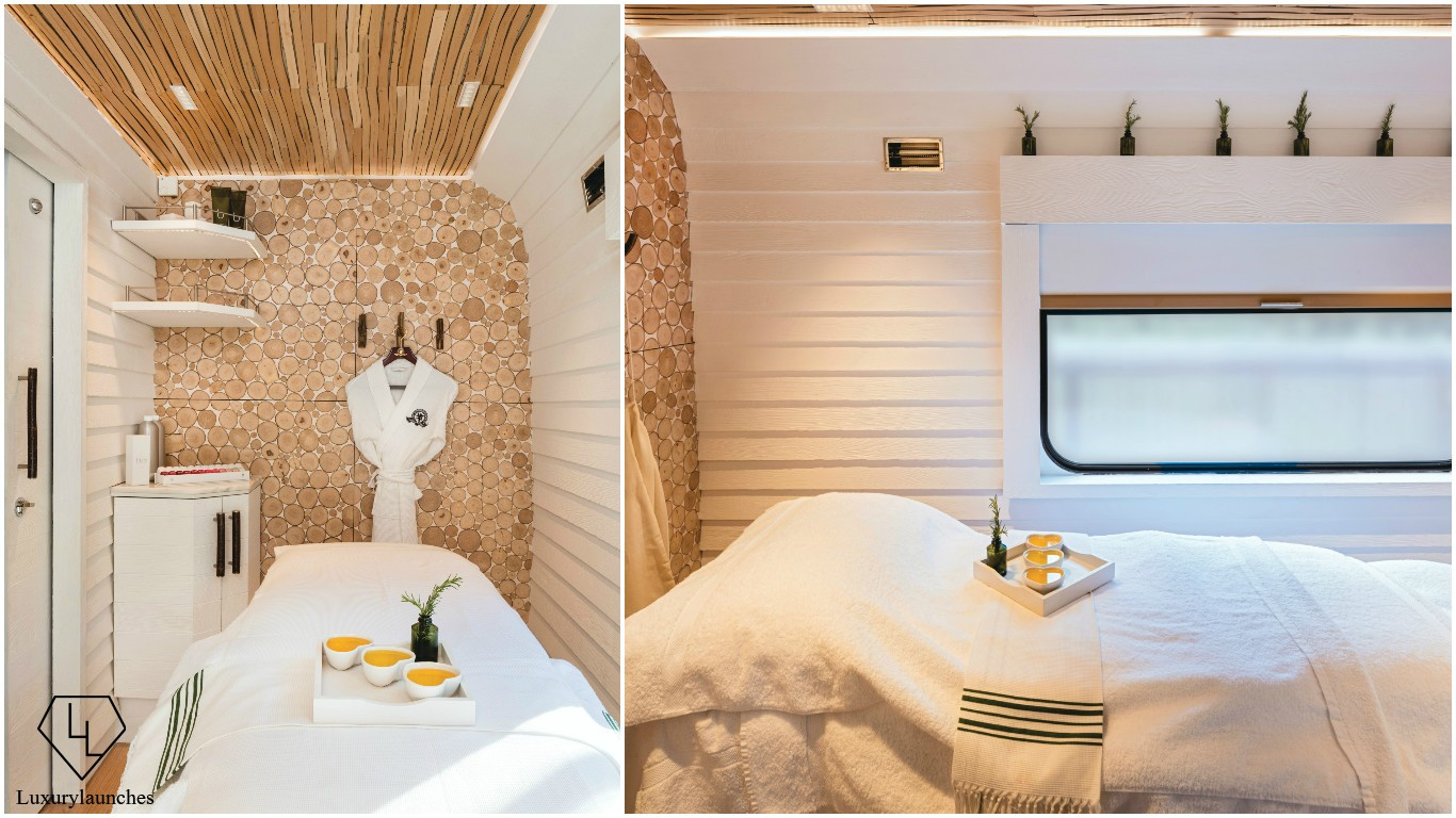 The most scenic spa in entire Europe and it's on wheels