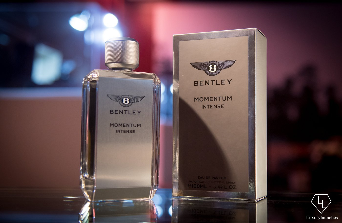 Bentley Fragrances Launches: Momentum Intense -