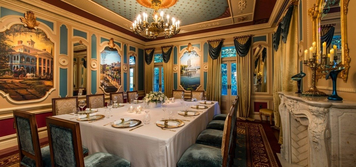 Inside 21 royal disneyland california for Best private dining rooms new orleans