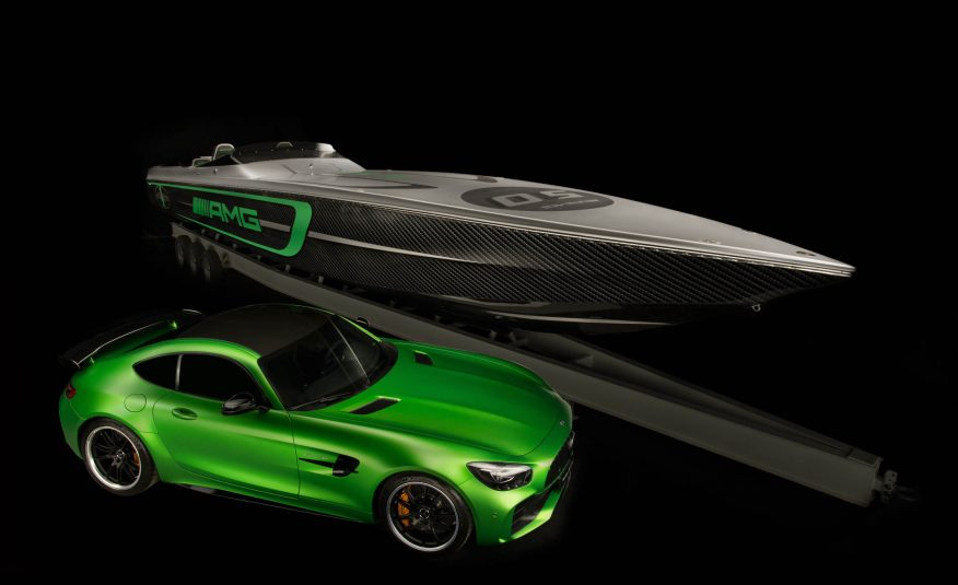 Check out Mercedes and Cigarette Racing's $1.8 million 10th anniversary boat