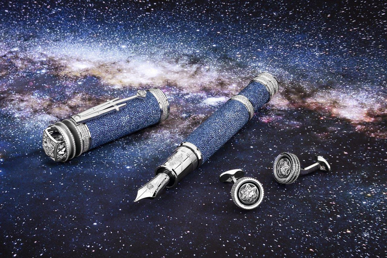 Mont Blanc pays homage to Johannes Kepler with a $1.5 million pen! -