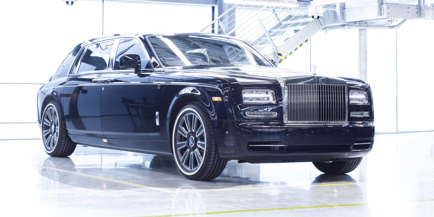 Here is a look at the last Phantom VII to emerge from Rolls Royce