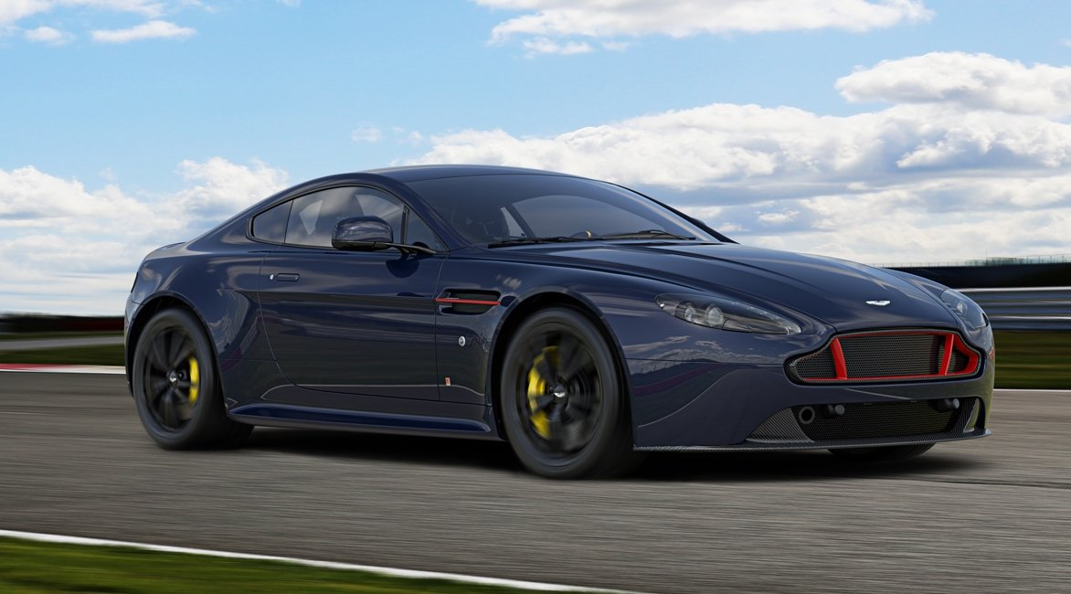 Here's your first look at Aston Martin's V8 and V12 Vantage S Red Bull Racing Editions