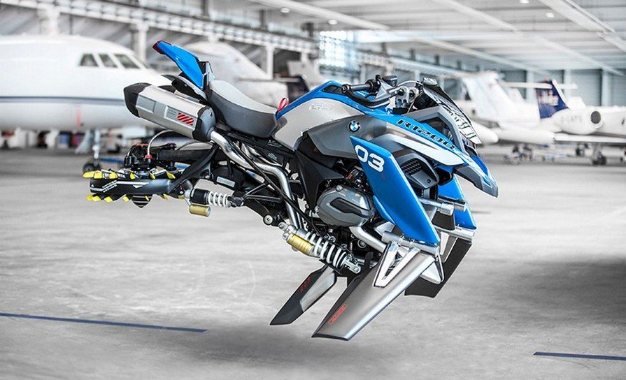 BMW collaborates with Lego for a hoverbike concept : Luxurylaunches