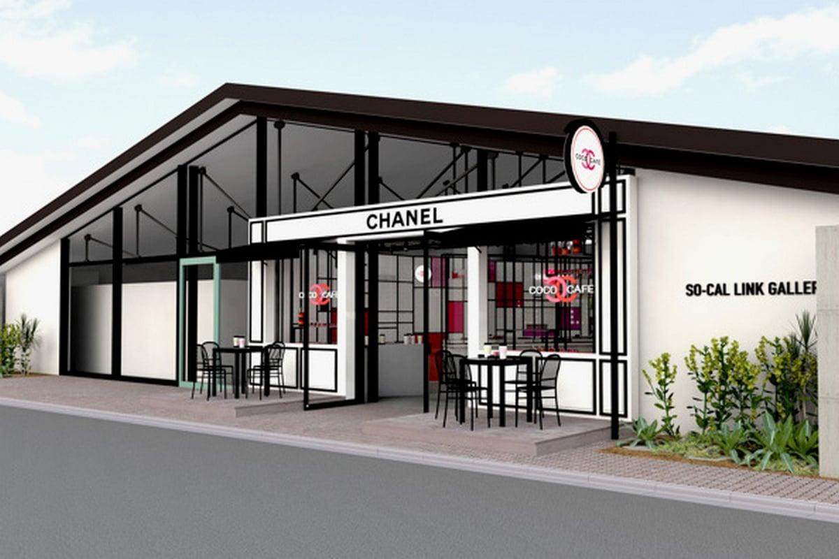 tokyo to get a coco chanel pop up cafe. Black Bedroom Furniture Sets. Home Design Ideas