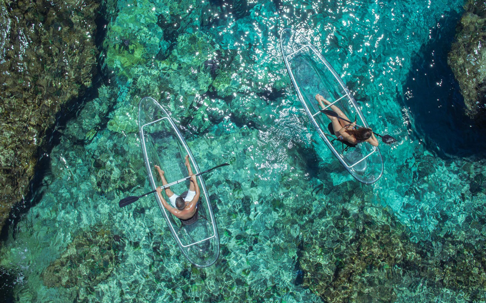 Kayaking Will Be Even More Fun With These Transparent Kayaks
