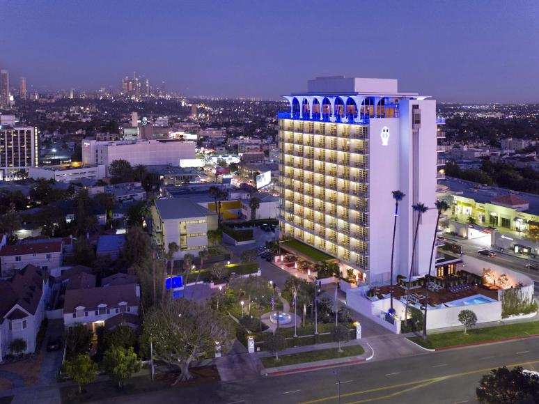Hotel Indigo Rooftop Bar Los Angeles