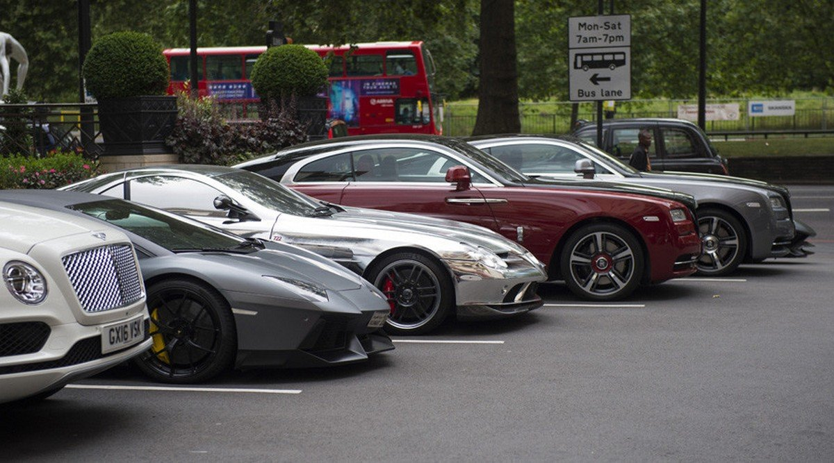 An anonymous Middle Eastern Royal has shelled out $26 million for a private London carpark : Luxurylaunches
