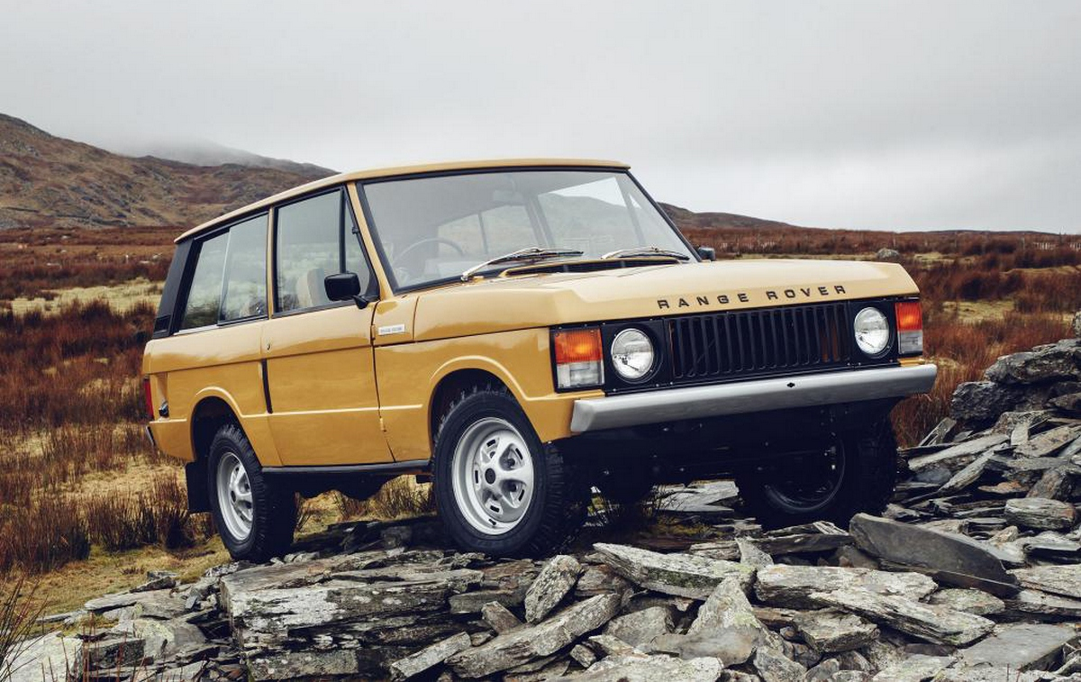 Land Rover is resurrecting the original 1970's Range Rover