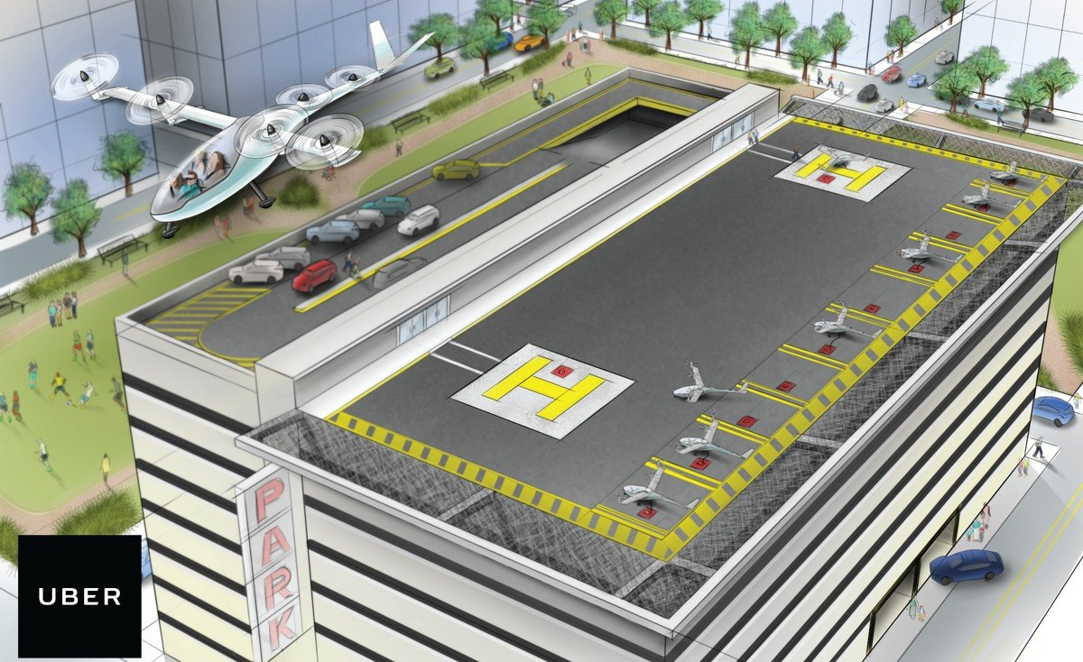 "Uber brings ex-NASA engineer in board to develop ""flying cars"""